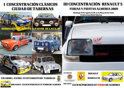 Próximas concentraciones de clásicos en Almería