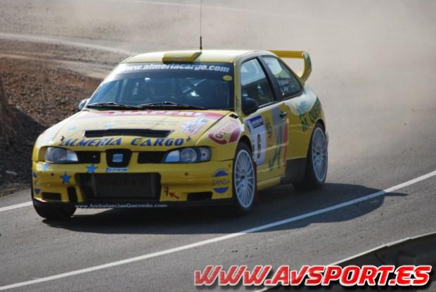 Manuel Maldonado vence en el Rallyesprint de Vícar