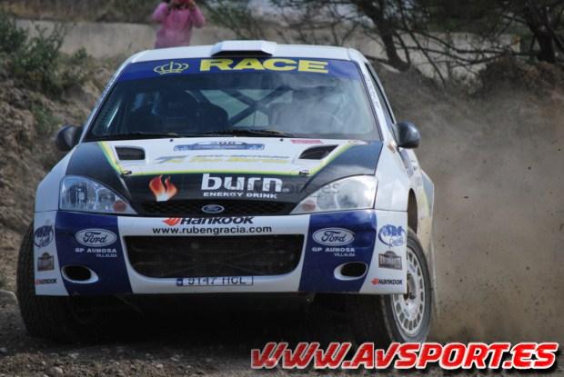 Rubén Gracia/Diego Sanjuan (Ford Focus WRC)