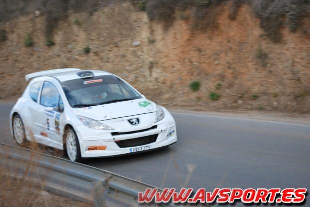 David Pérez vence en el I Rallyesprint Ciudad de Ugíjar