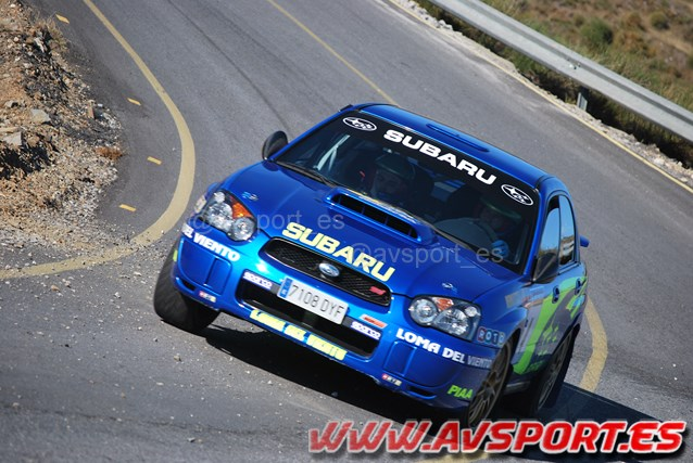 Fernando Fernández/William Rossini (Subaru Impreza STI) 3º clasificado