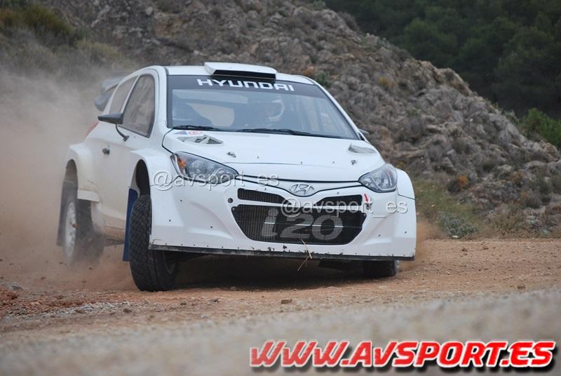 Test Hyundai i20 WRC Thierry Neuville en Almería