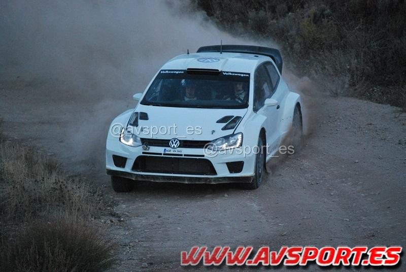 Test Volkswagen Polo R WRC Sebastien Ogier & Jari-Matti Latvala en Almería